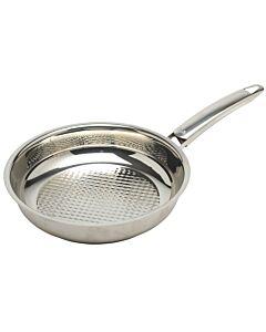 Fissler Crispy Steelux Premium koekenpan ø 24 cm rvs glans
