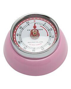 Zassenhaus Timer Speed kookwekker 7 cm metaal roze