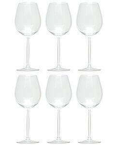 Schott Zwiesel Diva 1 water & rode wijnglas 612 ml kristalglas 6 stuks