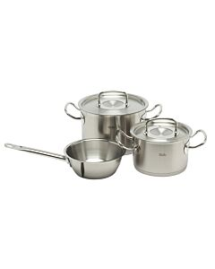 Fissler original-profi collection pannenset rvs 3-delig