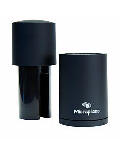 Microplane Spice Mill nootmuskaatmolen staal zwart