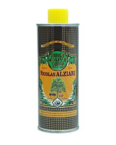 Nicolas Alziari truffel-olijfolie Diamond Noir blik 250 ml