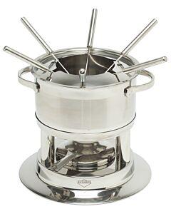 Küchenprofi Lugano fondueset 1,5 liter rvs 6-persoons