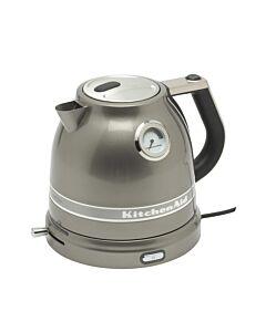 KitchenAid Artisan waterkoker 1,5 liter aluminium tingrijs
