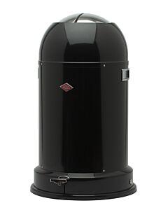 Wesco Kickmaster CL Soft afvalemmer 33 liter zwart