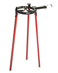 Vaello Campos gasbranderonderstel 65,5 cm plaatstaal rood