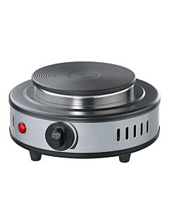 Cilio Classic mini elektrische kookplaat ø 17 cm rvs