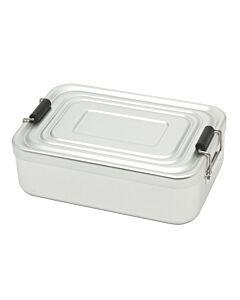 Küchenprofi lunchbox 18 x 12 cm aluminium mat
