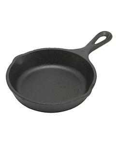 Lodge Logic mini-skillet koekenpan ø 12,5 cm gietijzer zwart