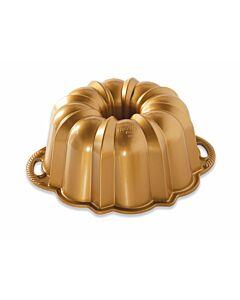 Nordic Ware Anniversary Bundt tulbandvorm ø 26,5 cm gietaluminium goudkleurig
