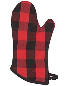 Now Designs Buffalo Check Superior ovenwant 30 x 13 cm katoen rood/zwart