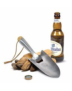 Fred Beer Gardener flessenopener hout roestvrij staal