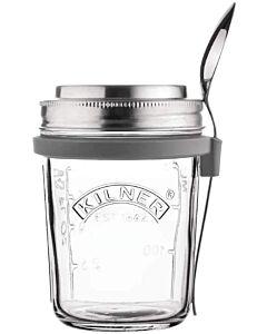Kilner Glass Breakfast Jar Set 350 ml rvs