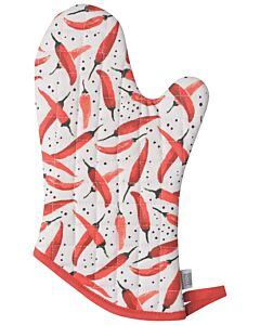 Now Designs Caliente ovenwant 30 x 13 cm katoen rood