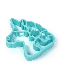 Fred Unicorn omelet-/ eibakring blauw