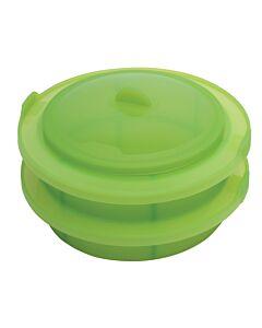 Lékué stoommand 22 cm silicone groen