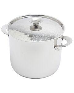 Alessi Dressed soeppan met deksel 8,5 liter rvs hoogglans