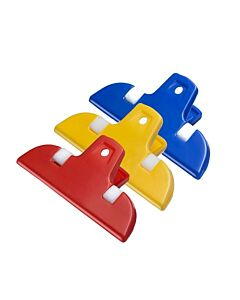 Westmark Bag Clips mini 3 stuks geel-rood-blauw