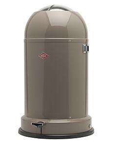 Wesco Kickmaster CL Soft afvalemmer 33 liter warm grijs