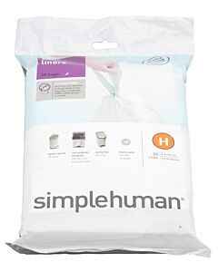 Simplehuman type H afvalzakken 20 stuks