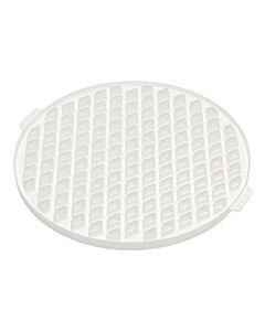 Patisse taartsnijder ruitvorm ø 30 cm kunststof wit