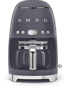 SMEG 50's style koffiezetapparaat kunststof leigrijs
