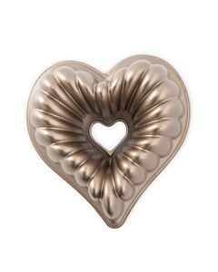 Nordic Ware Elegant Heart tulband bakvorm 24 cm gietaluminium