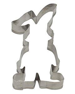 Städter uitsteekvorm haas 10,5 x 5,5 cm rvs