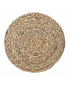 Bloomingville placemat ø 35 cm waterhyacint bruin
