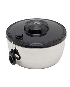 Küchenprofi slacentrifuge 3,25 liter rvs zwart
