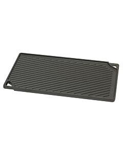 Lodge Logic dubbelzijdige grillplaat 42,5 x 24,1 cm gietijzer zwart