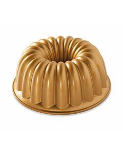 Nordic Ware Elegant Party tulbandvorm ø 23 cm aluminium goudkleurig
