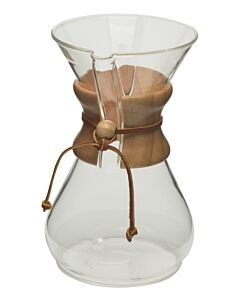 Chemex Classic filterkoffiemaker 8-kops 1,2 liter glas