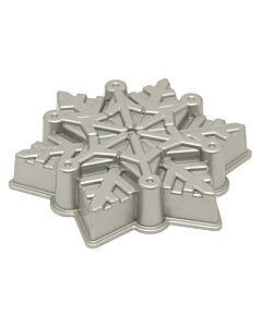 Nordic Ware sneeuwvlok bakvorm ø 28 cm aluminium grijs