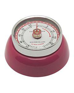 Zassenhaus Timer Speed kookwekker ø 7 cm metaal magenta