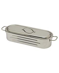 Frabosk vispan met grill 40 cm rvs glans