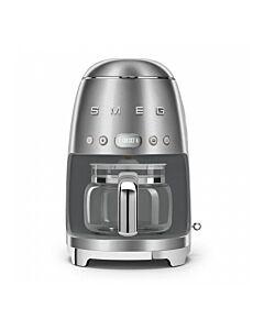 SMEG 50's style koffiezetapparaat geborsteld rvs