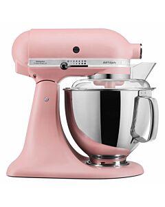 KitchenAid Artisan Elegance standmixer 4,8 liter Poederdoos Roze