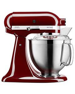 KitchenAid Artisan KSM185 standmixer 4,8 liter Bordeaux rood
