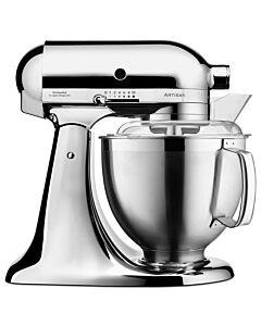 KitchenAid Artisan KSM185 standmixer 4,8 liter Chroom - 5KSM185PSECR