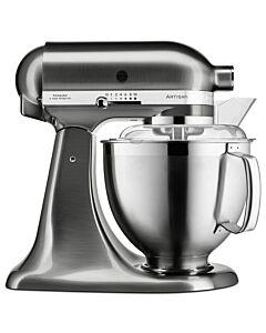 KitchenAid Artisan KSM185 standmixer 4,8 liter Geborsteld nikkel - 5KSM185PSENK
