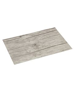 ASA Selection placemat 46 x 33 cm vinyl grenenhoutpatroon white wash