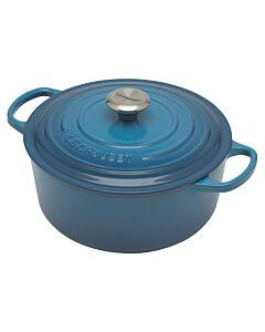 Le Creuset Signature braadpan 5,2 liter ø 26 cm gietijzer Marseilleblauw