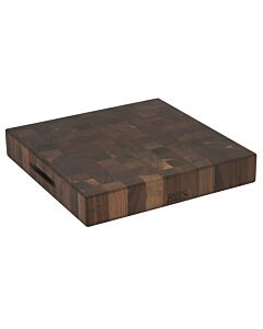 Boos Blocks Walnut Collection hakblok 46 x 46 cm walnoothout