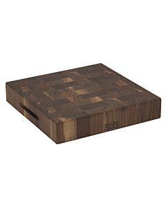 Boos Blocks Walnut Collection hakblok 37 x 37 cm walnoothout
