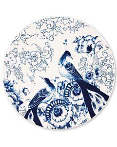 Royal Delft Peacock Symphonie onderbord ø 30,5 cm aardewerk