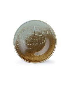 Fine-to-Dine Escura serveerschaal ø 30,5 cm porselein bruin/groen
