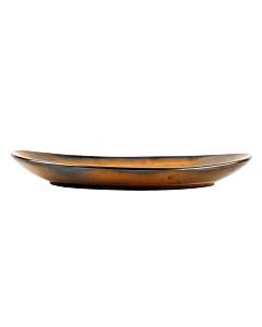 Fine-to-Dine Escura dinerbord ø 33 cm porselein donkerbruin