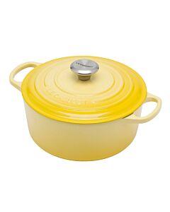 Le Creuset Signature braadpan 4,2 liter ø 24 cm gietijzer soleil