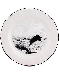 Gien Chambord Sanglier dessertbord ø 23,2 cm keramiek